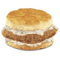 Hardee's Country Fried Steak 'N' Gravy Biscuit