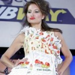 Subway Shows Off Outfits Made From Restaurant Chain's Recycled Packaging