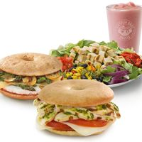 Einstein Bros. Launches 'Smart Choices' Menu Featuring Lighter Fare for Breakfast, Lunch and Catering