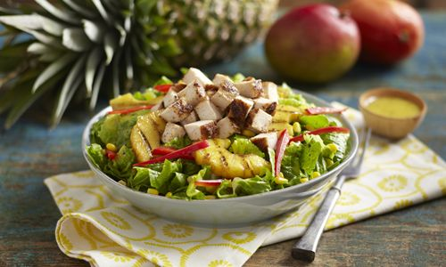 Pollo Tropical Introduces Tangy Pineapple Chicken Wrap And Salad For A Limited Time