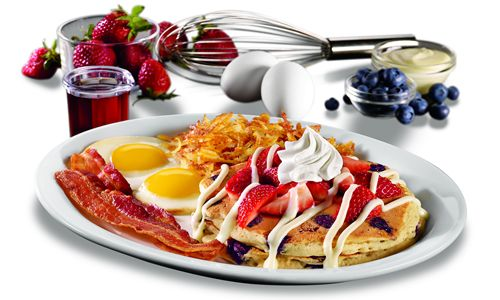 Denny's Build Your Own Pancakes Menu Back By Popular Demand