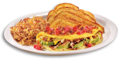 Image result for made for now omelette at denny's