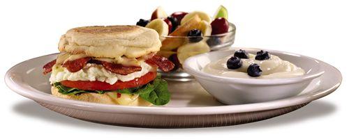 Denny's Fit Fare Breakfast Sandwich Plate