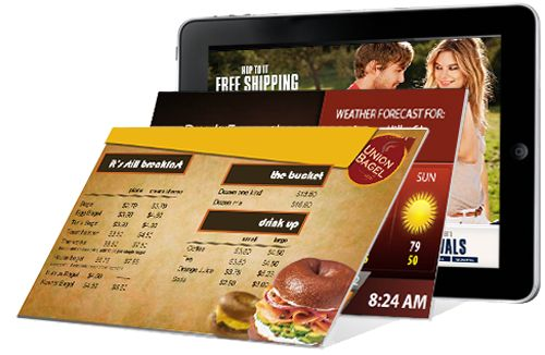 Fortune 500 Quick Service Restaurants See Boost in Bottom-line Profits By Implementing Affordable Digital Menu Board Technology
