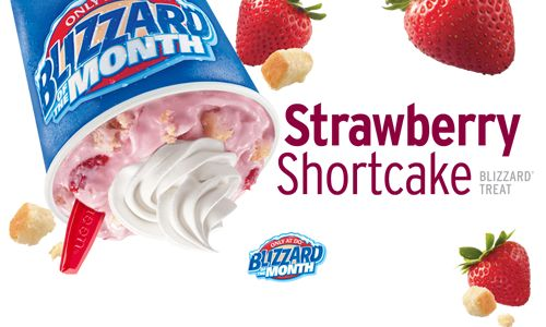 Strawberry Shortcake Ice Cream Cake Dairy Queen