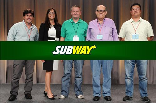 Top SUBWAY Restaurant Developers Honored For Outstanding Service