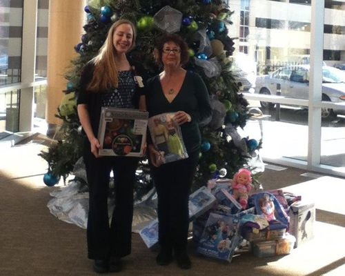 Villa Enterprises Annual Holiday Donation to St. Joseph's Children's Hospital Brings Smiles to Those in Need