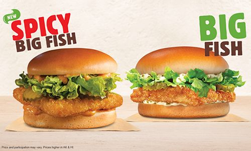 Burger King Restaurants Look To Hook Guests With The New Y Fish Sandwich