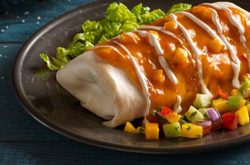 Spicy Tequila Mango Smothered Burritos Arrive at Qdoba