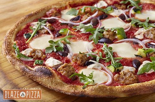 Blaze Fast-Fire'd Pizza Announces Grand Opening of New Restaurant in Orange, CA's Old Towne