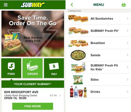 SUBWAY Restaurants Introduces New App and Remote Ordering Capabilities