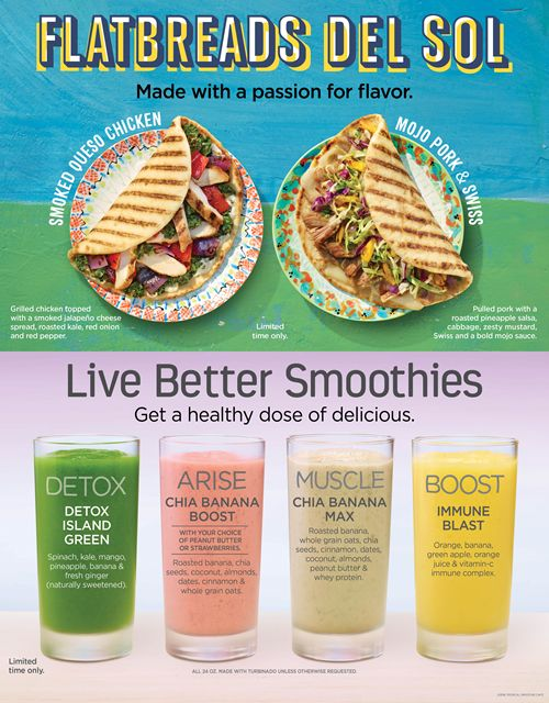 Permalink to Tropical Smoothie Cafe Menu Nutrition