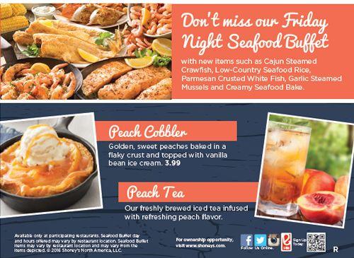 Shoneys Coastal Catch Reels In Fresh Seafood Specials