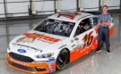 Biffle Teams with Hooters to Promote National First Responders Day with Darlington Throwback Scheme