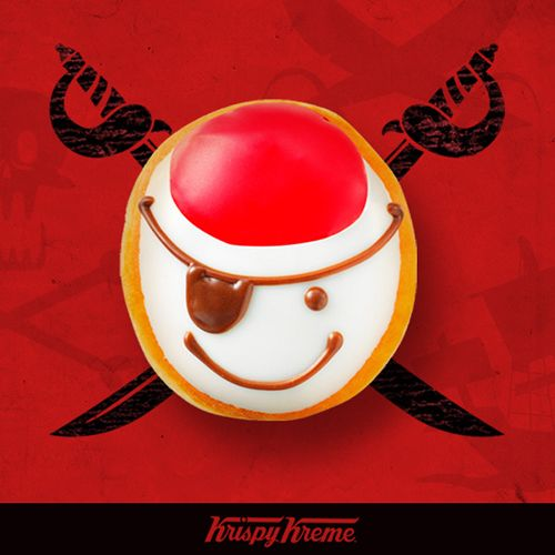 Krispy Kreme giving out free doughnuts on Talk Like a Pirate Day