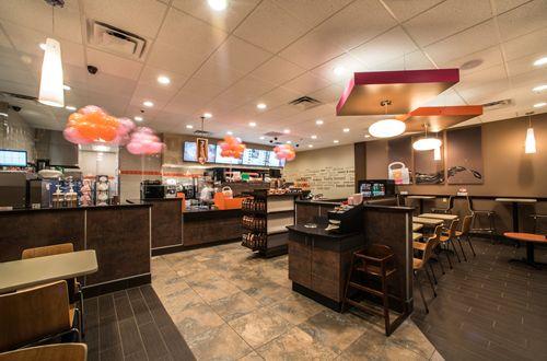 Dunkin Donuts Store Inside