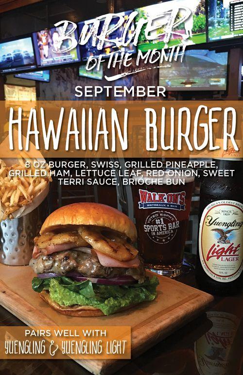New Hawaiian Silk Flower Lei Hawaii Luau Party Favors Hula: Hang Loose With Walk-On's New Hawaiian Burger