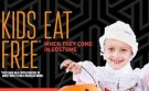 It's No Trick: Costumed Kids Eat Free at Cicis for Halloween