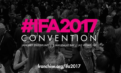 International Franchise Association to Host Annual Convention Jan. 29 - Feb. 1, 2017