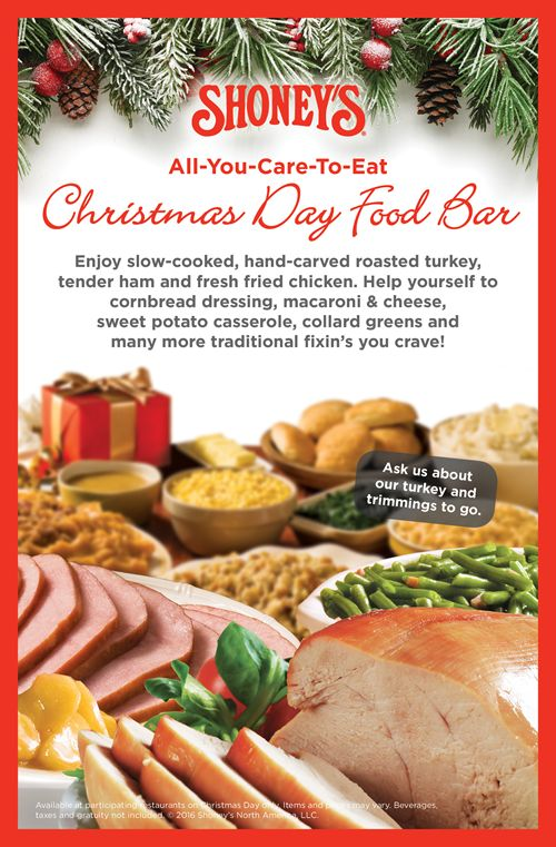 Shoney's Will Be Open on Christmas