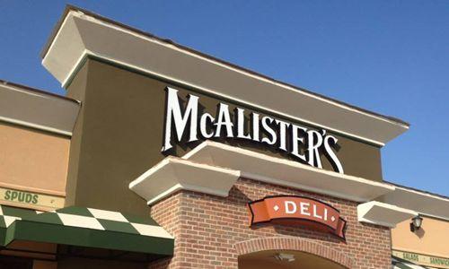 McAlister's Deli to Open Three New Dallas-Fort Worth Locations In 2017