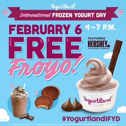 "Yogurtland ""Raises a Spoon"" to First-Ever International Frozen Yogurt Day Celebration On February 6, 2017"