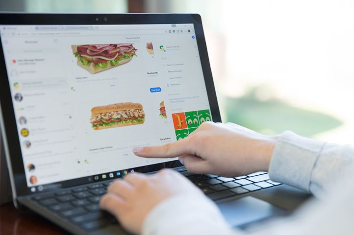 Subway Launches Ordering of Sandwiches and Salads on Facebook with a Bot for Messenger