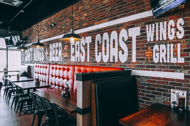 New Burlington East Coast Wings + Grill Celebrates with Free Wings for a Year to First 75 Guests