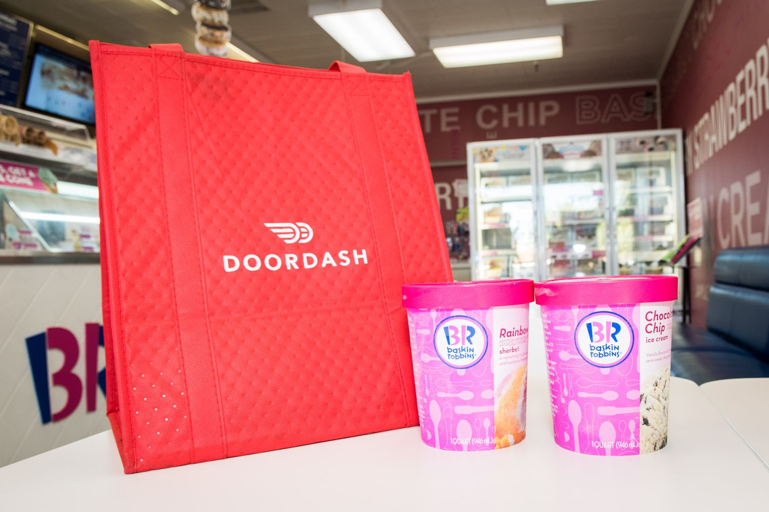 Baskin-Robbins takes on messy task of ice cream delivery
