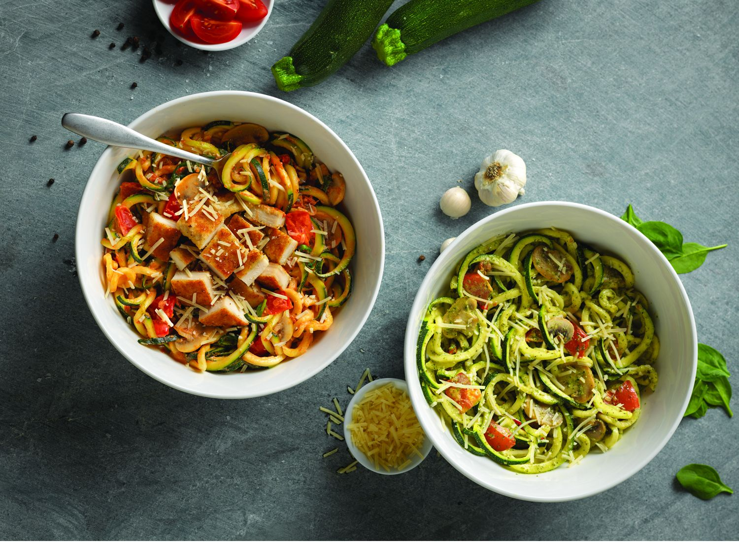 Noodles & Company Moves Vegetables to the Center of the Bowl With Debut of Veggie Noodles