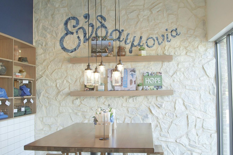 taziki's mediterranean café unveils new interior design reflecting