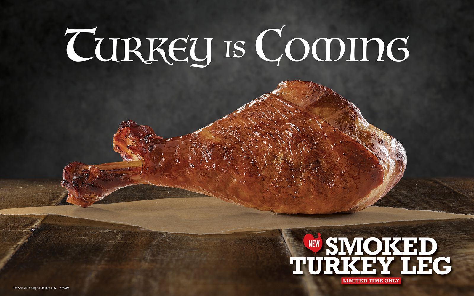 Arby's Selling Turkey Legs for 'Game of Thrones' Finale