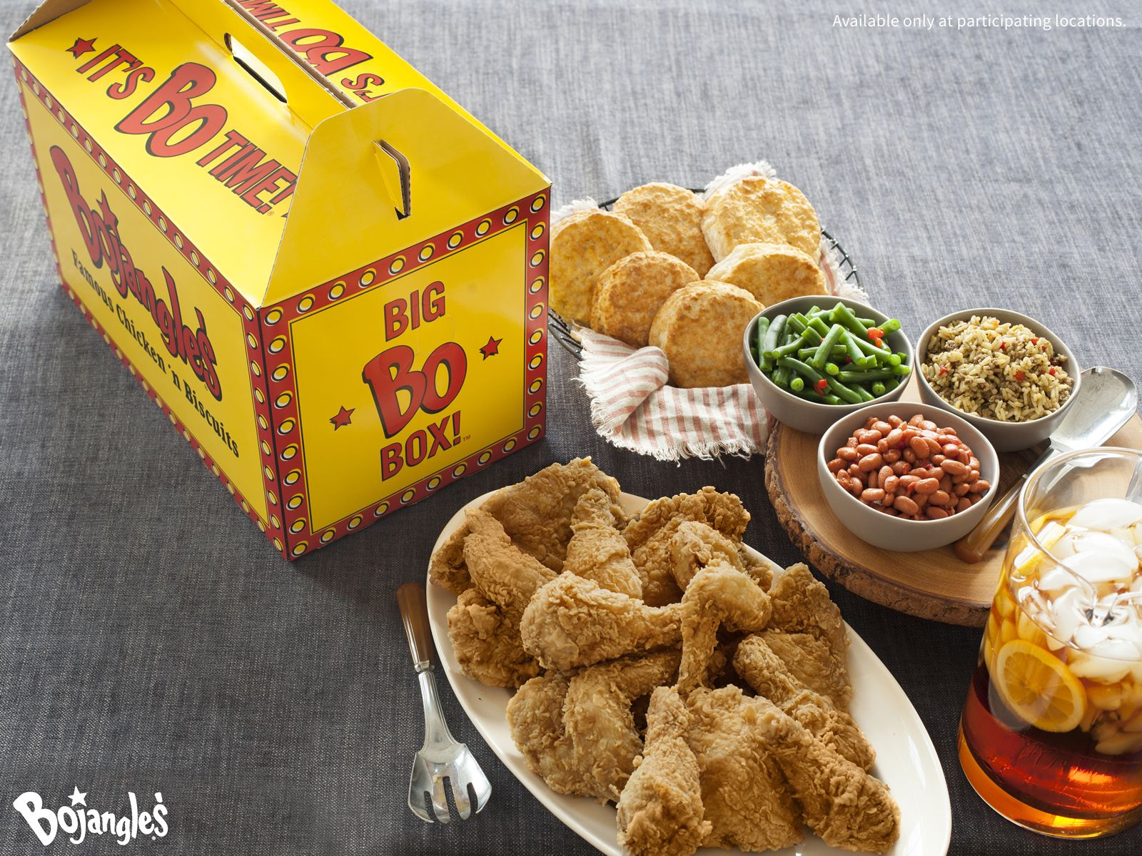 Your Tailgate Game is LAME! Unless it includes a Bojangles' Big Bo Box