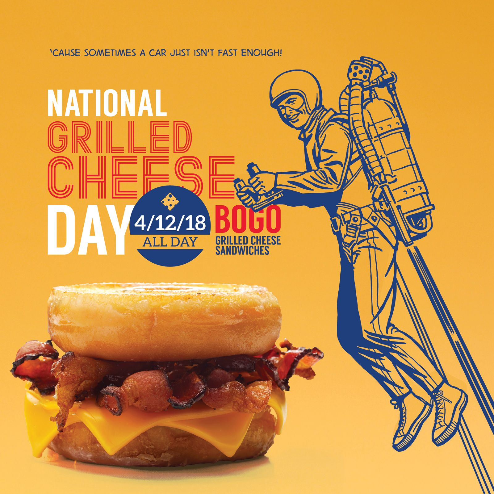 Free Grilled Cheese Sandwiches at Arooga's April 12th ...