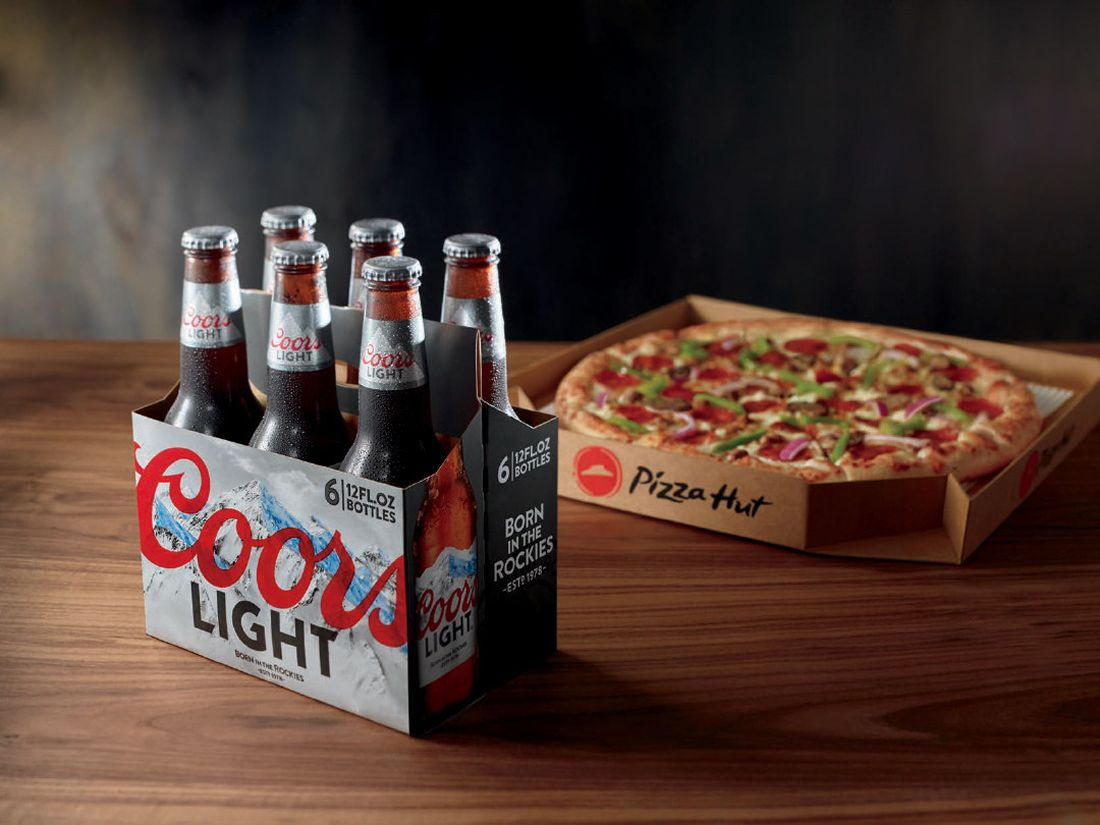 Pizza Hut testing beer delivery in Arizona, California