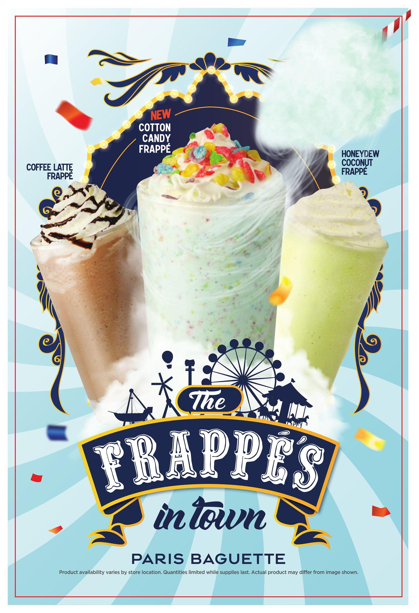 Paris Baguette Offers Frappe Lovers New Summer Flavors