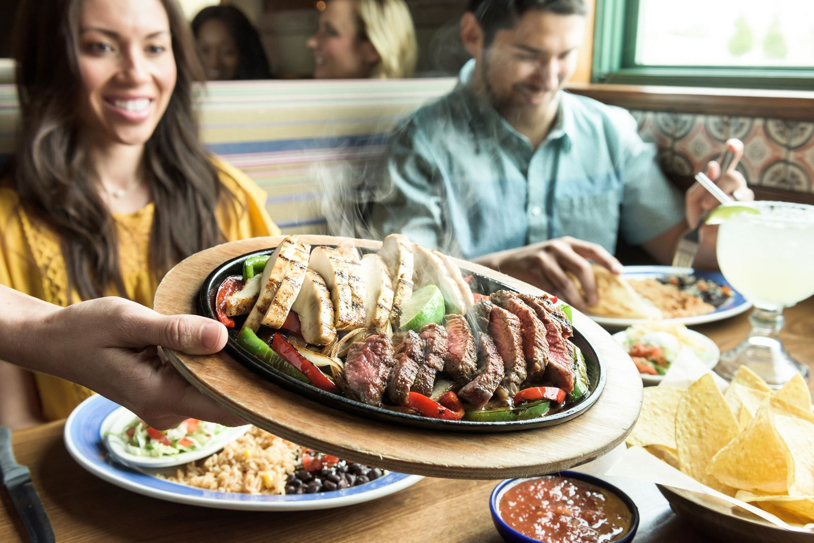 On The Border Mexican Grill & Cantina's Week-Long Fajita Fiesta Starts Monday, Aug. 13th!