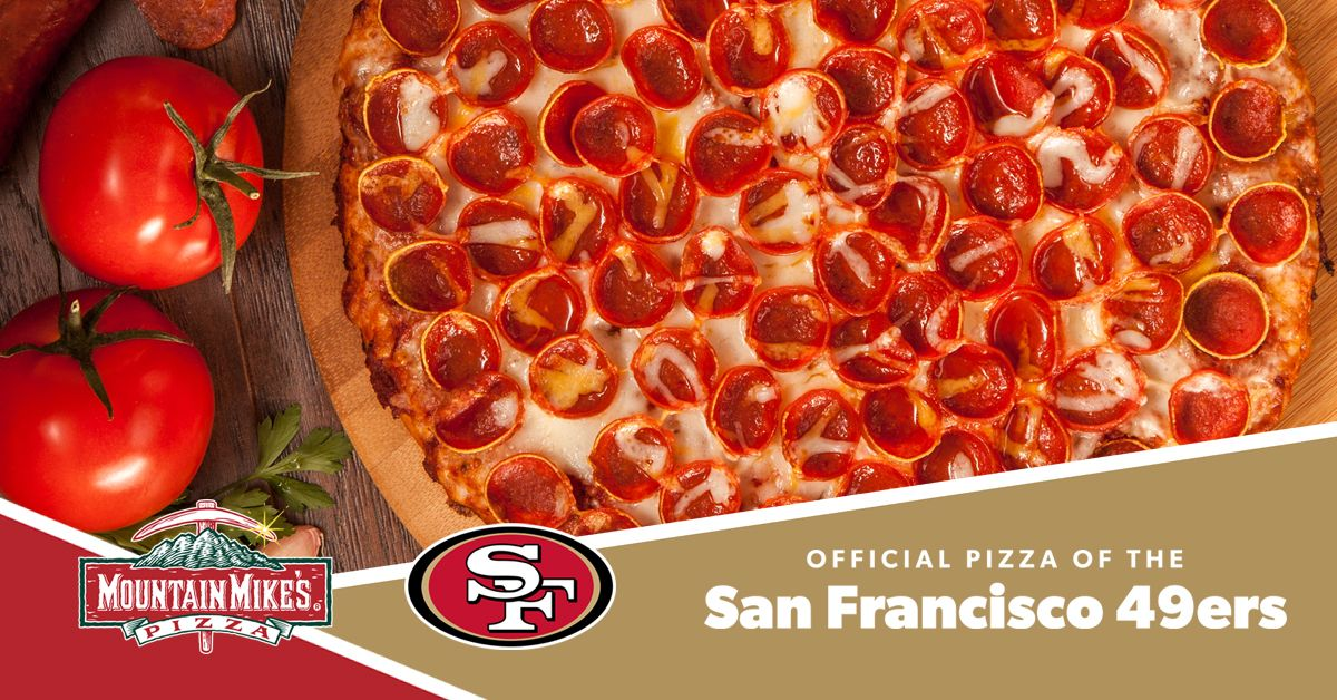San Francisco 49ers Adds Mountain Mike's Pizza as Team Partner