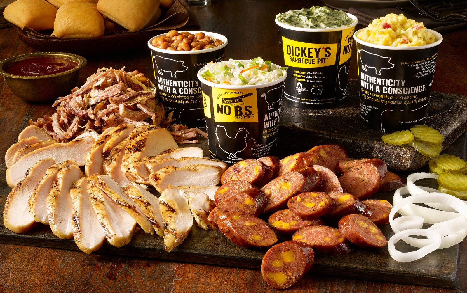 Dickey's Barbecue Pit is Legit. Texas. Barbecue.