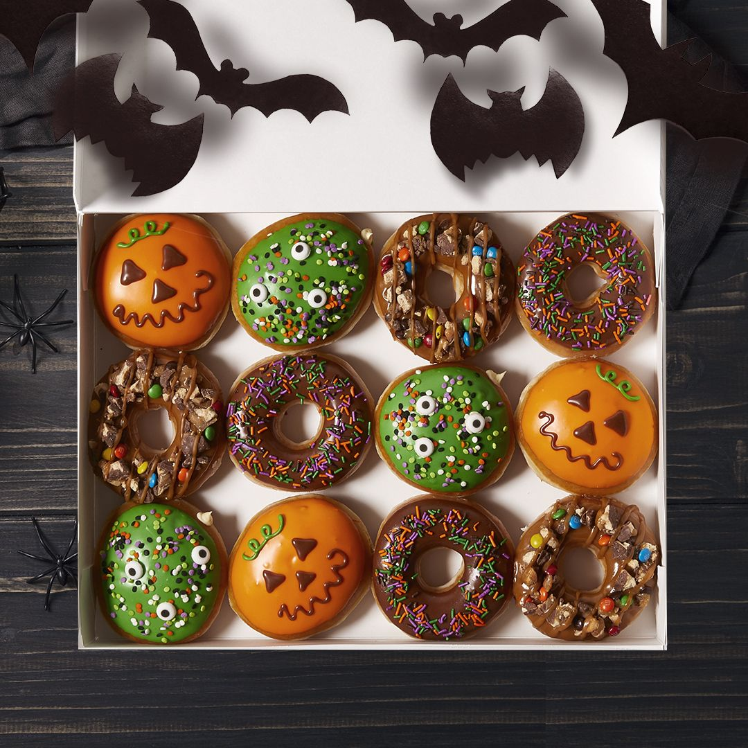 Krispy Kreme Doughnuts Reveals Ultimate Halloween Collection Featuring New Trick-or-Treat Doughnut