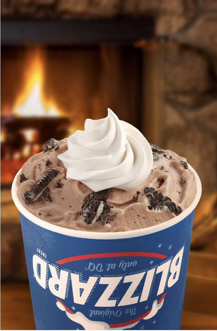 The Dairy Queen System Spreads Holiday Cheer With Festive Seasonal Blizzard Treats