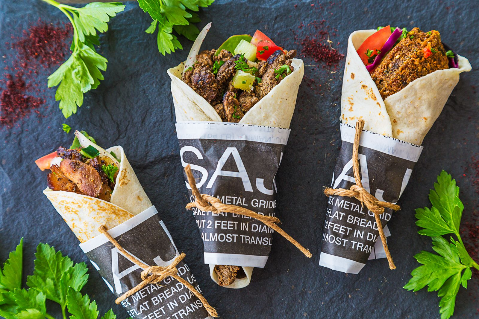 SAJJ Mediterranean will celebrate the Grand Opening of its newest Orange County location in Irvine on Friday, 11/30. All guests will receive 50% off their orders on that date, and the first 30 guests in line at 11:00am will be rewarded with a free entree card to use on their next visit.