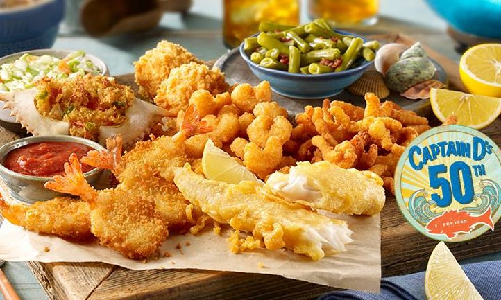 Captain D's starts 2019 Celebrating their Golden and Crispy Anniversary - 50 Years of Seafood Greatness