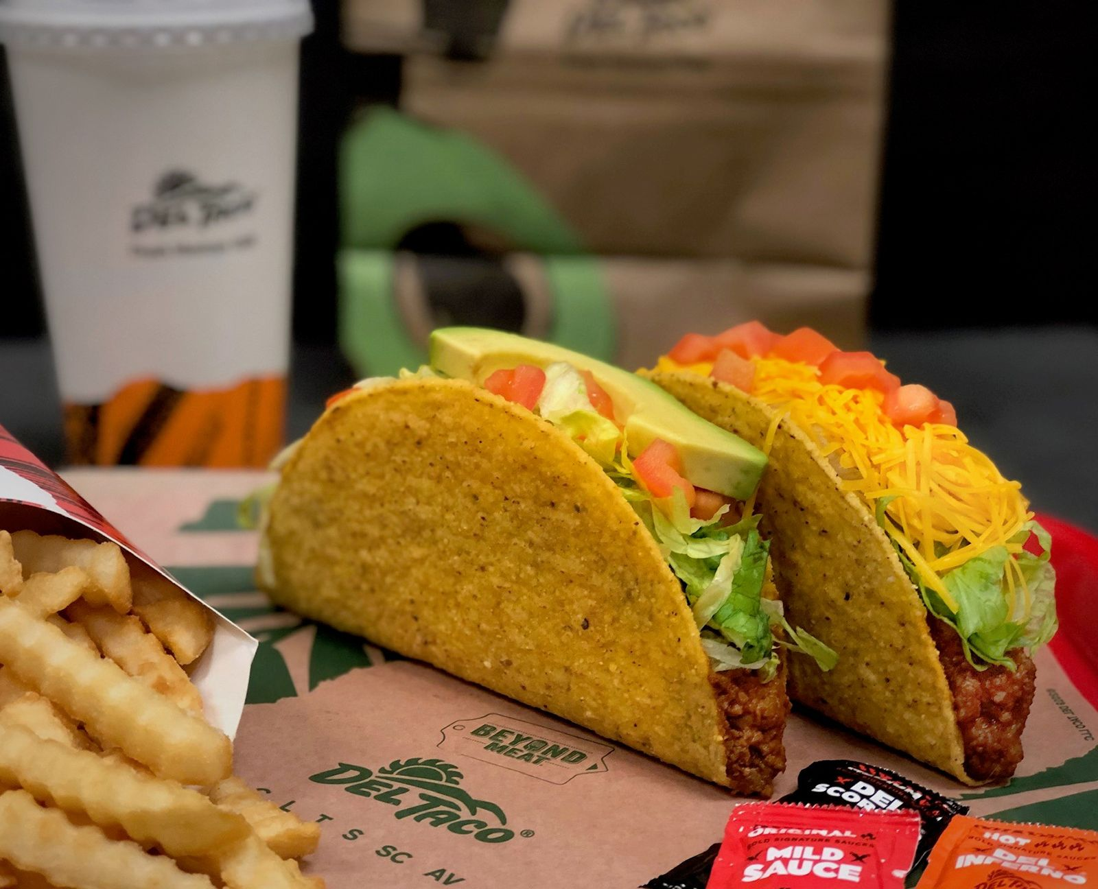 Del Taco Plants Beyond Meat Tacos in San Diego