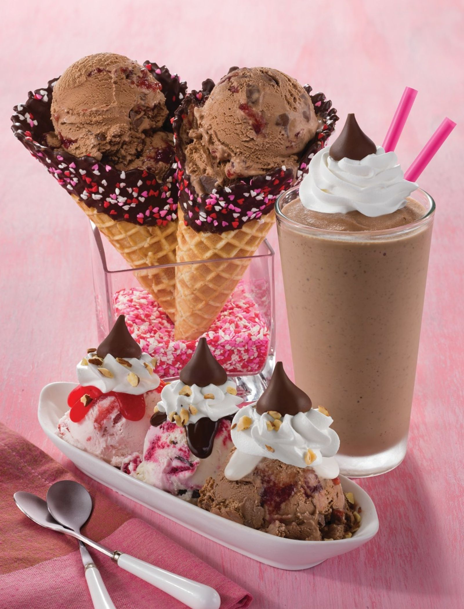 Fall Head Over Heels in Love with Baskin-Robbins Kiss-Inspired February Menu