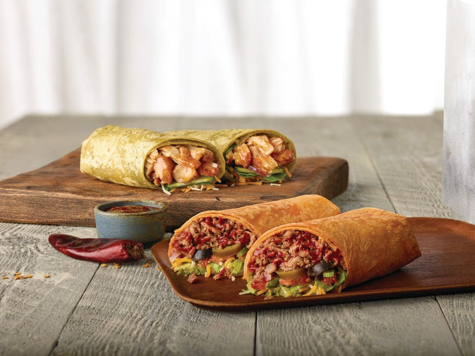 Bold New Flavors Highlight Additions to Subway Restaurants' Signature Wraps Collection
