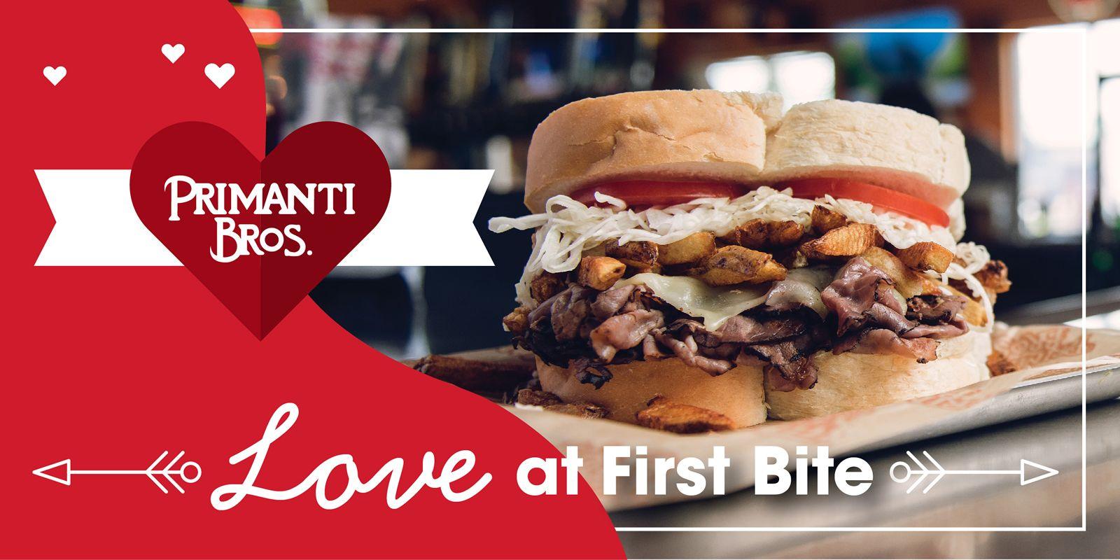 Primanti Bros. Restaurants Host Love at First Bite