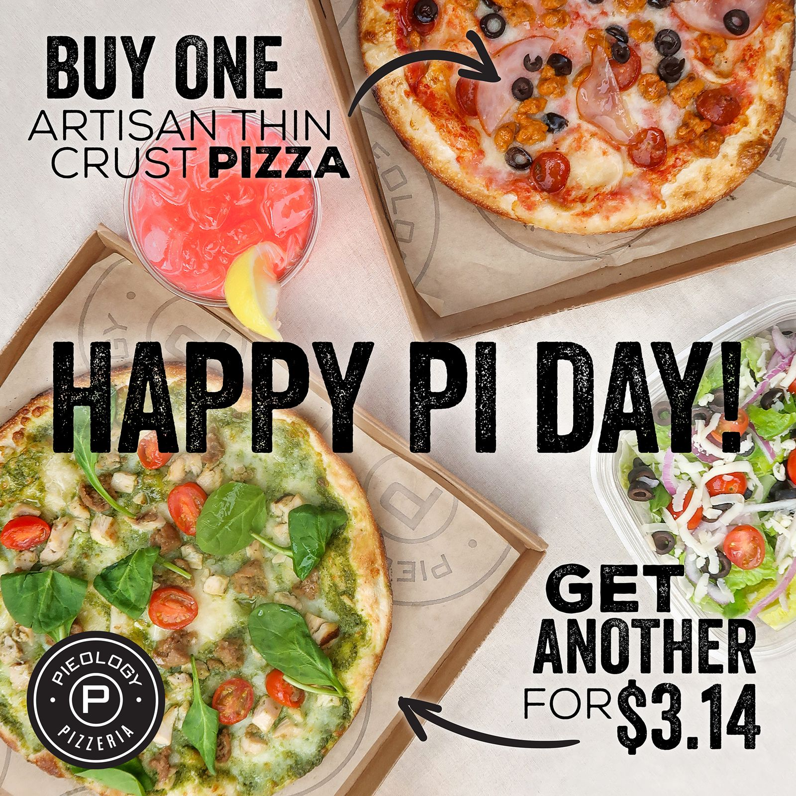 PI DAY DISCOUNTS