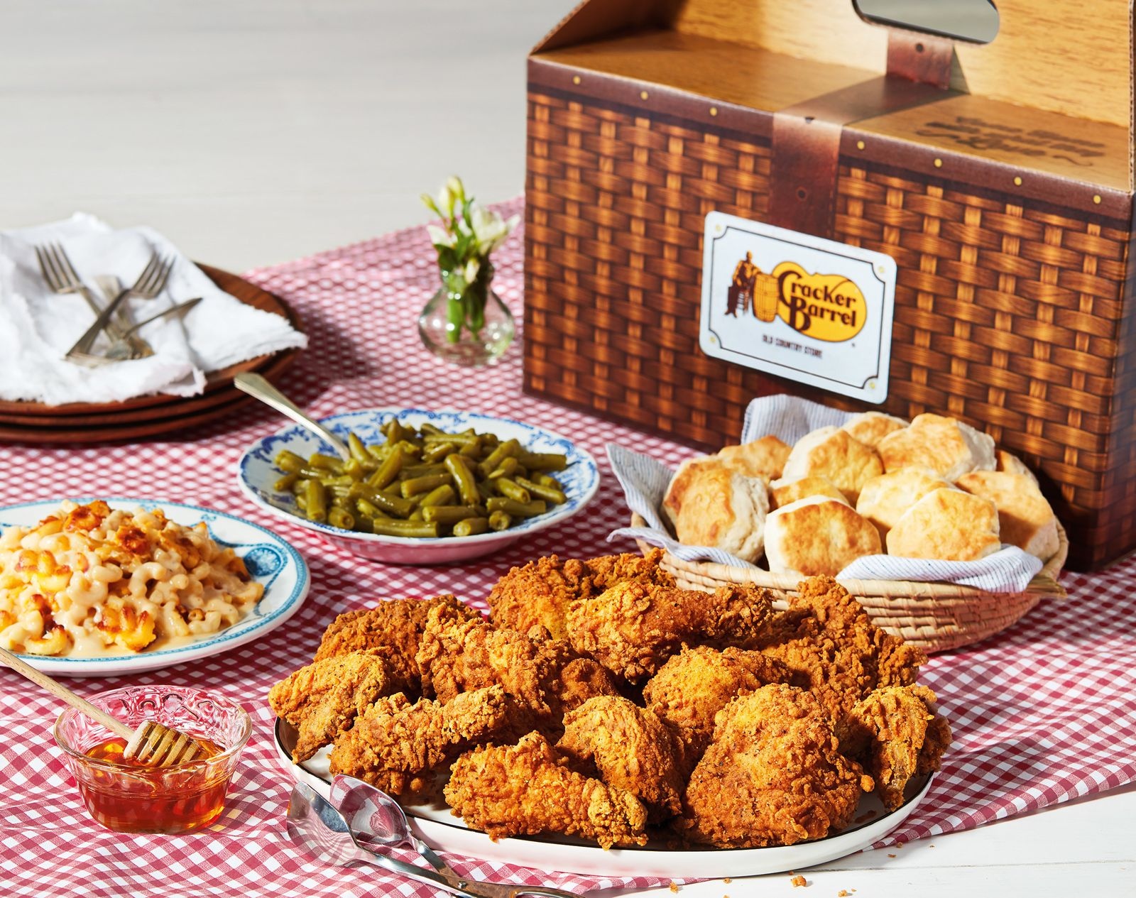 To Celebrate 50 Years, Cracker Barrel Old Country Store Releases Southern Fried Chicken