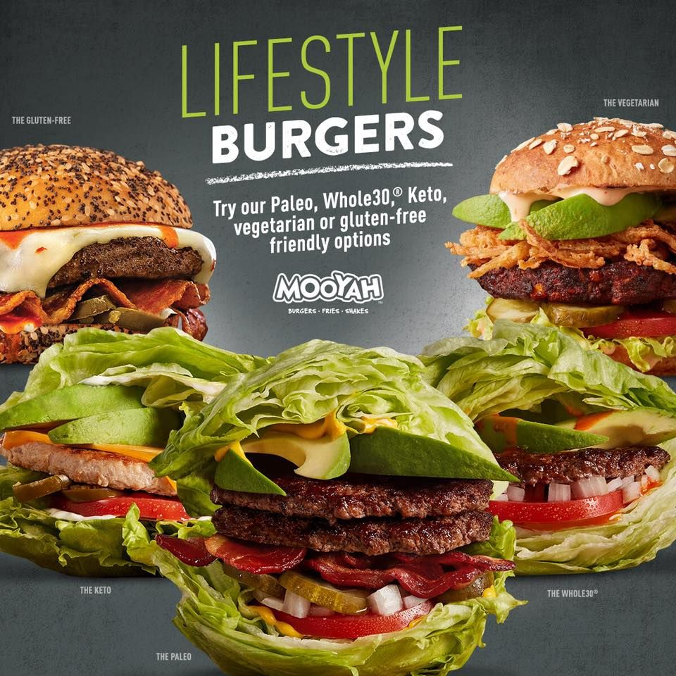 MOOYAH Burgers, Fries & Shakes Introduces Lifestyle Burgers